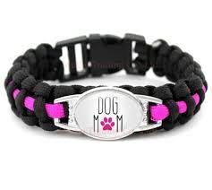 paracord bracelet images Dog mom paracord bracelets dog pawty jpeg