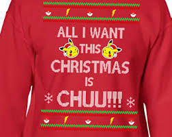 Ugly Christmas Sweater Party Poem - pokemon sweater etsy