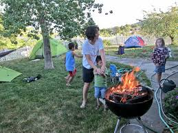 home camping activities for kids