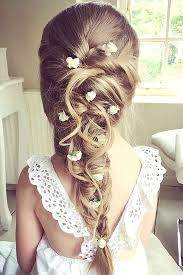flowergirl hair flower girl hair styles best 25 kids wedding hairstyles ideas on