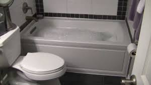 bathroom kohler bathtubs archer bubble with tiles flooring and
