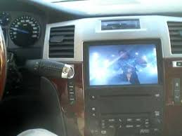 cadillac escalade navigation dvd gm cadillac chevrolet dvd in motion navigation dvd hack