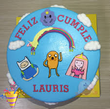 torta hora de aventura cupcakes y tortas dibujos animados
