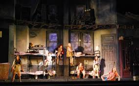 annie us national tour scenic design by beowulf boritt 2014