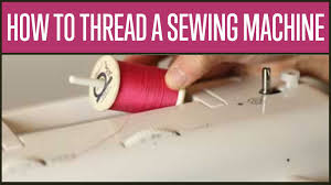how do i thread a singer sewing machine youtube