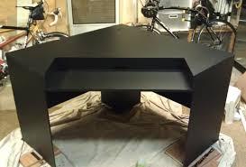 Z Line Belaire Glass L Shaped Computer Desk Desk Exotic Gratifying Cheap L Shaped Gaming Desk Surprising Z