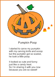 printable pumpkin poem for halloween poem candy corn and