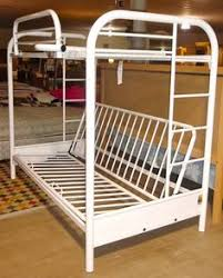 White Futon Bunk Bed Black Metal Bunk Bed With Futon Interior Paint Colors For 2017