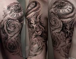 12 best realistic rose tattoo elbow designs images on pinterest
