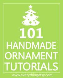 101 handmade ornaments