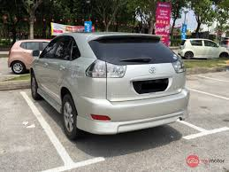 harrier lexus 2007 2006 toyota harrier for sale in malaysia for rm70 000 mymotor