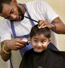 backpacks haircuts attract thousands to back to bash in