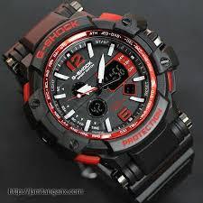 Jam Tangan G Shock jam tangan g shock gpw1000 warna hitam merah jam tangan g shock