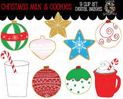christmas clipart christmas cookies and milk printable christmas