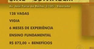 www vagas vigia curitiba ultimas g1 sine em contagem na grande bh oferece 128 vagas para vigia