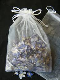 large organza bags organza bags daisyshop for dried flowers