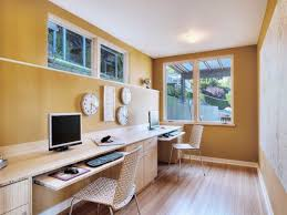 office puny lovely home office design two desks plus apartment