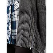Autumn Cashmere Rib Drape Cardigan Buy Autumn Cashmere Rib Draped Cardigan Flannel John Lewis