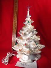ceramic tree lights vintage new ebay