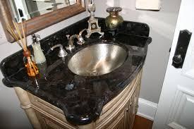 Bathroom Granite Vanity Top White Bathroom Vanity Black Granite Top Www Islandbjj Us