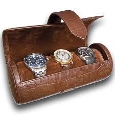 travel box images Triple watch roll travel box l109 rapport portman brown leather jpg
