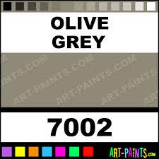 olive grey glossy acrylic airbrush spray paints 7002 olive