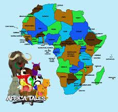 Egypt Africa Map by Maps Africatales Africatales