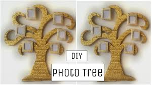 diy crafts innovative cardboard photo tree wall hanging best