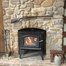 how to install wood stove in fireplace decor color ideas beautiful