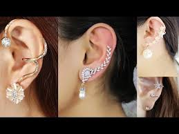 ear wraps and cuffs fashion simple ear cuffs wraps style with sterling