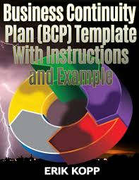 Business Continuity And Disaster Recovery Plan Template Business Continuity Plan Bcp Template With Instructions And