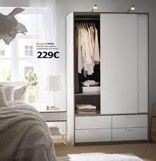 armoire de chambre ikea armoire 4 portes coulissantes ikea le bois chez vous