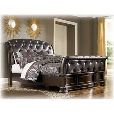 King Sleigh Bedroom Sets by B613 78 Ashley Furniture Barclay Place Bedroom King Sleigh Bed