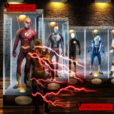 the flash fan art fan art meanwhile in the future at the flash museum flashtv