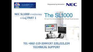 nec sl1000 การประกอบการ ดต part 1 youtube