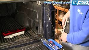 2015 dodge ram 1500 tail light bulb replacement how to install repair replace broken taillight lens dodge ram 02 08