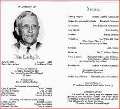 Funeral Programs Samples Funeral Program Sample Pic3b Jpg Letterhead Template Sample