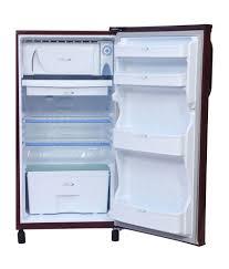 kelvinator 170 ltr kn183ebr kn183emh single door refrigerator