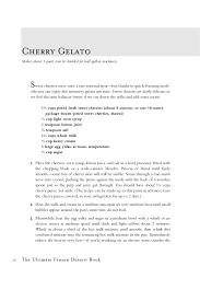 the ultimate frozen dessert book a complete guide to gelato sherber u2026