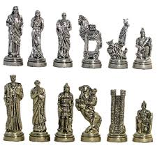 Chess Styles Medieval And Ancient Historical Theme Chess Sets