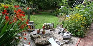 Backyard Rock Garden by Small Rock Garden Ideas Backyard Landscaping In Arid Areas Desert