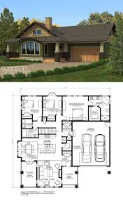 Side Garage Floor Plans 1003 Best Floor Plans Images On Pinterest House Floor Plans