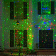 Laser Light Decoration Remarkable Decoration Christmas Projection Lights Red X1000 Laser