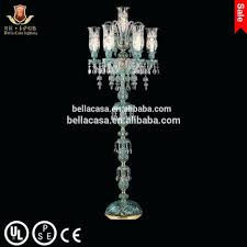Tall Floor Standing Candelabra by Floor Lamps Standing Chandelier Floor Lamp It Uses A Candle