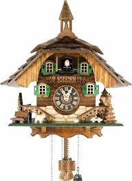 Cuckoo Clock Germany Clocks Gothic Style Cuckoo Clocks With Dancers In Black For Wall