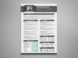 creative resume cv cover letter u0026 portfolio psd template landisher