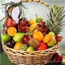 basket of fruits send online mixed fruit basket to india myflowergift