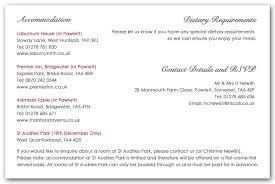 Wedding Invitations Information Wedding Invitation Wording Information Example 1 Contemporary