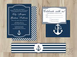 nautical wedding nautical wedding invitations cloveranddot