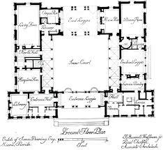 courtyard style house plans hacienda style home plans mission style house plans with courtyard